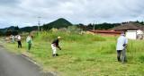 駐車場・草刈り(2)