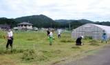 駐車場・草刈り(3)